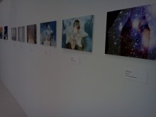 Kristen Prosen's phography on display in the Oliver Gallery.