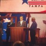 @MittRomney practicing his speech. #RNC2012