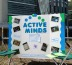Active Minds helps students with the end of the semester stress.